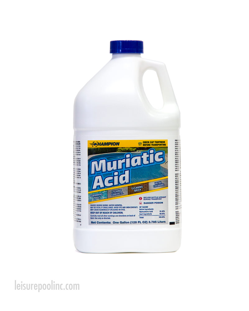 Muriatic Hydrochloric Acid For Sale Commercial Grade