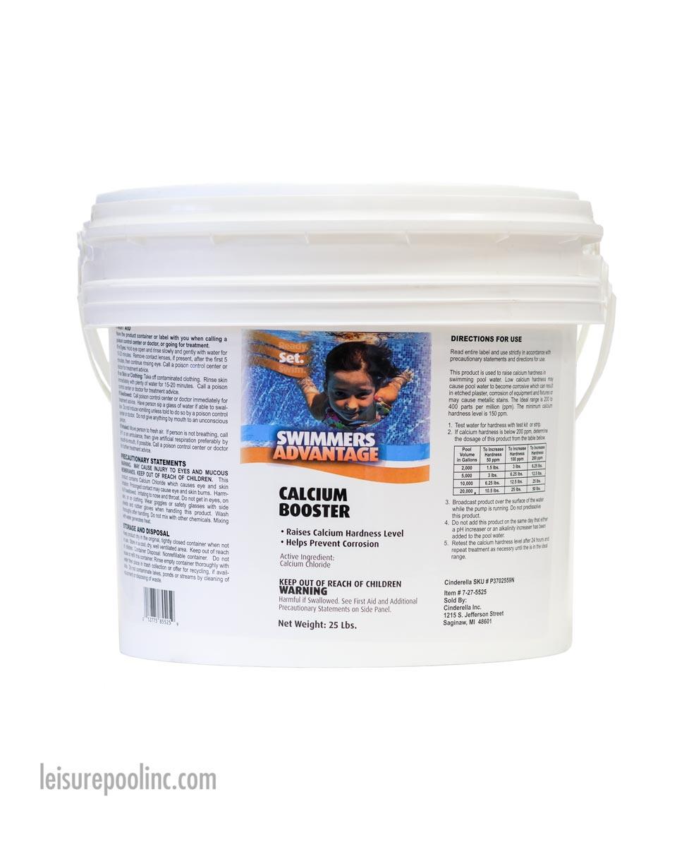 Swimmer\'s Advantage Calcium Hardness Booster/Increaser   Calcium Chloride -  25lb.