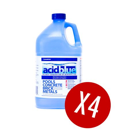 AcidBlue - Low Vapor Muriatic Acid for Sale by Leisure Pool and Spa Supply - Compare to ACID Magic