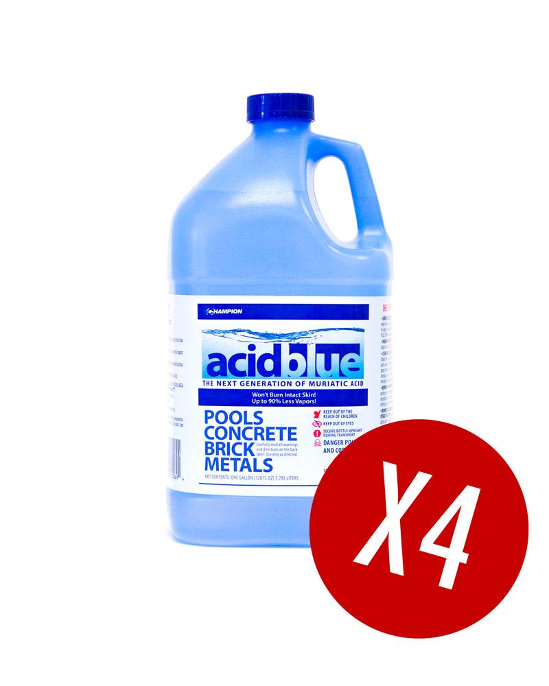 Acidblue Next Gen Muriatic Acid W Vapor Reduction