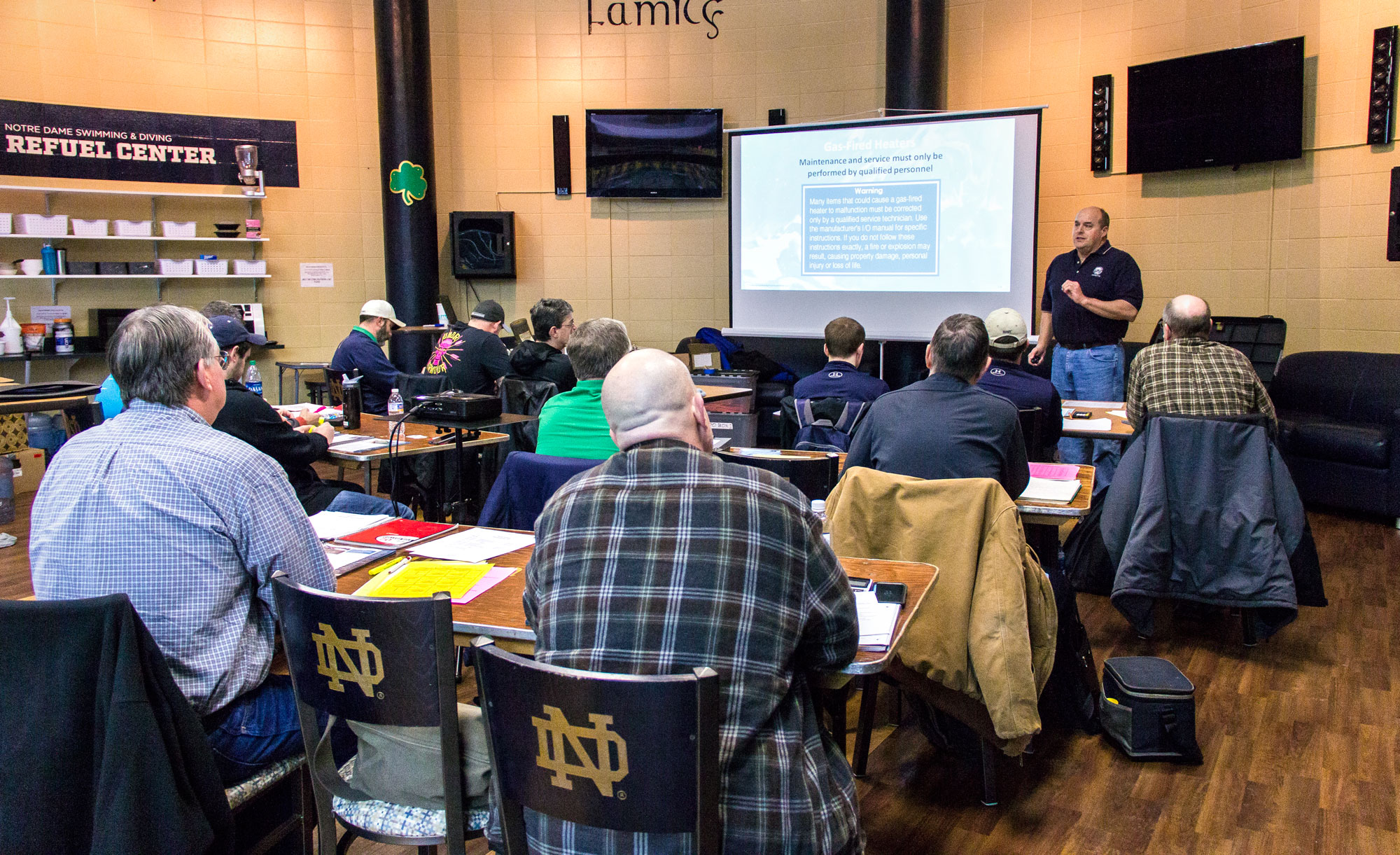 CPO Certification Course - Leisure Pool & Spa Supply, Inc. - Tim Yoder Instructing CPO Class